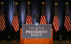 The Office Of The President Elect | Press Conference