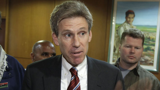 Ambassador Chris Stevens told officials that militia groups providing security in Benghazi had turned against the U.S