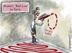 Obama's Red Line On Syria