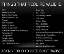 Things That Require A Valid ID